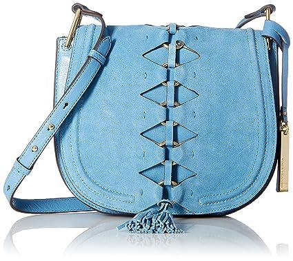 Vince Camuto Ancel Flap, Blue Heaven: Handbags: