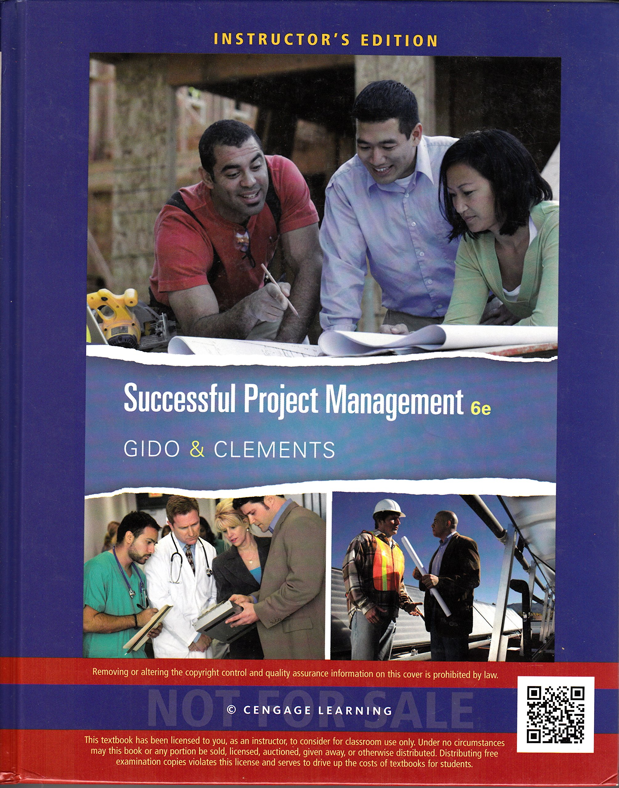 Successful Project Management Instructor's Edition: Jack Gido, James P.  Clements: 9781285452227: Amazon.com: Books