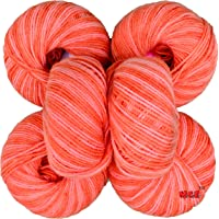 Vardhman Acrylic Knitting Wool, Pack of 6 (Multi Rowan) no.285