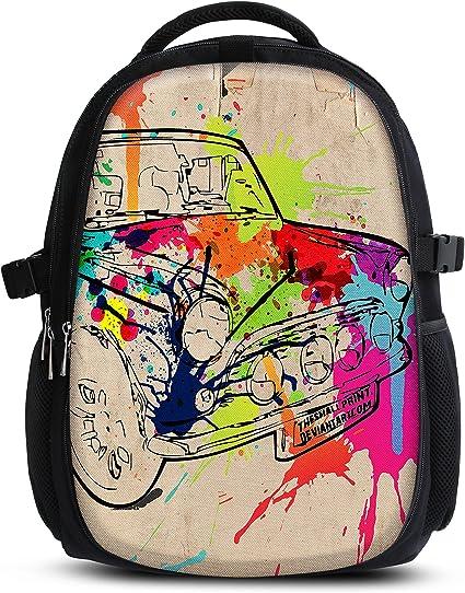 Rucksack für Jungen Mädchen Damen Herren Kinder Schulrucksack Schulranzen, Ranzen für die Schule Backpack für die Stadtzum Sport für Kinder &