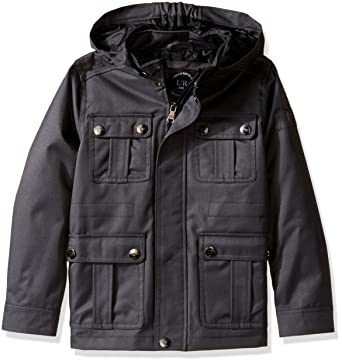 bb6b1ecf770 Amazon.com  Urban Republic Boys  Ballistic Jacket Removable Hood ...