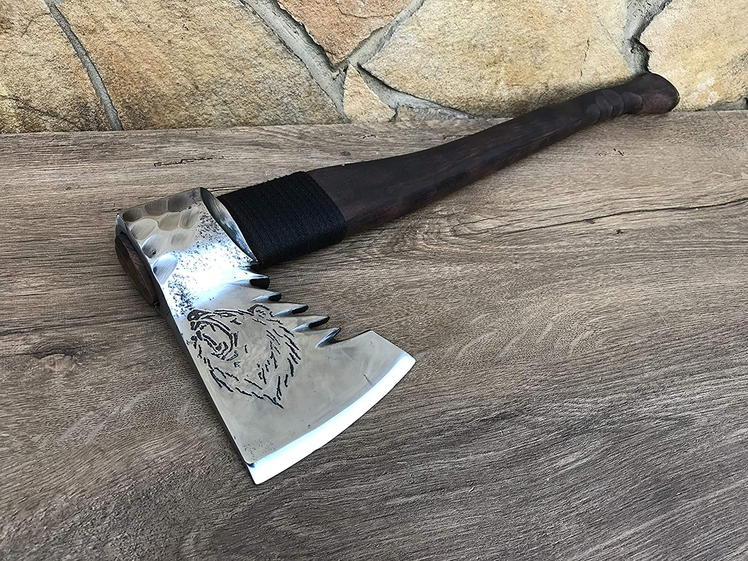 Christmas gift,viking axe,Fathers day gift,wolf,eagle 6th anniversary his birthday gift gift for dad gift for men 11th anniversary Axe