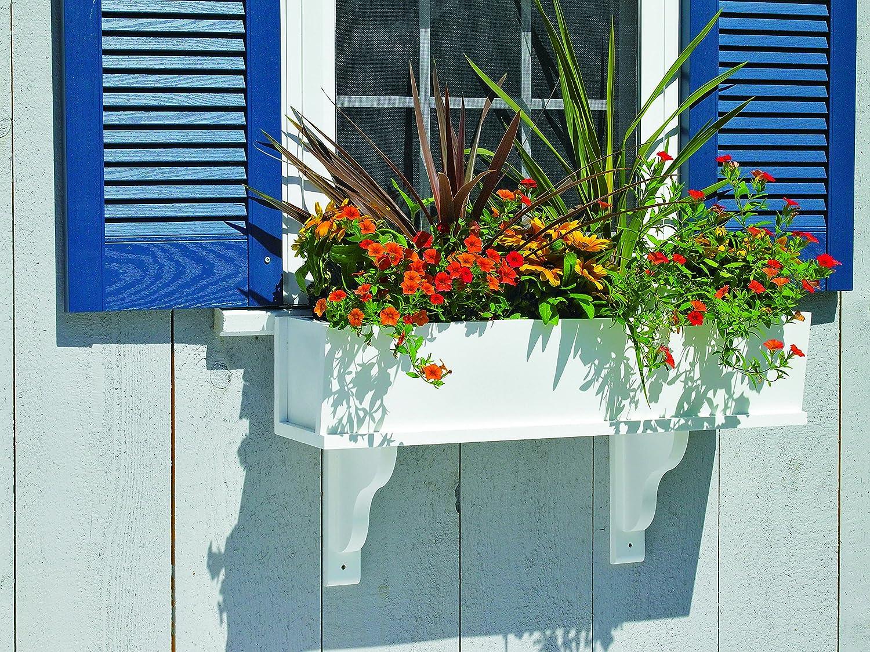 2 Brackets Good Directions Lazy Hill Farm Designs Montauk Composite PVC Window Box 42