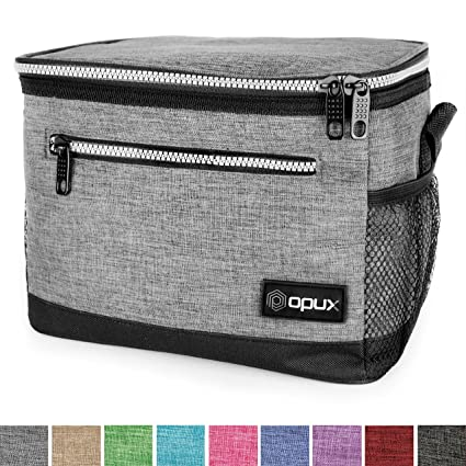 Amazon.com  OPUX Premium Insulated Lunch Bag with Shoulder Strap ... b11b7ed12a6b