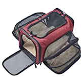 Premium Airline Approved Expandable Pet Carrier by Pet Peppy- Expandable Ends, Designed for Cats, Dogs, Kittens,Puppies…