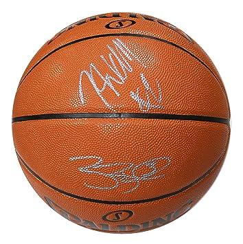 new style ee722 2e986 John Wall and Bradley Beal Washington Wizards Signed ...