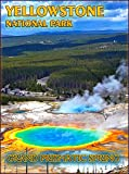 Yellowstone National Park Grand Prismatic Spring Wyoming United States Travel Advertisement Art Poster Print. Poster measures 10 x 13.5 inches