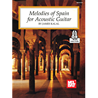 Melodies of Spain for Acoustic Guitar book cover