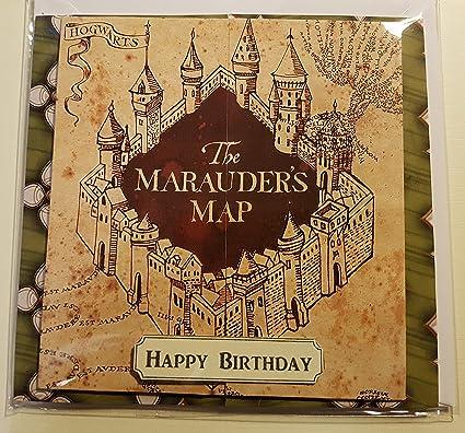 Hecho a mano de Harry Potter Slytherin de tarjeta de ...