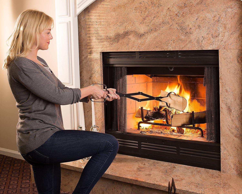 amazon com epica fireplace tongs 26
