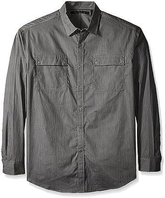 876e096582a Amazon.com  Sean John Men s Big and Tall Long Sleeve Printed Pocket Shirt   Clothing