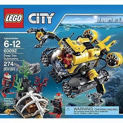 LEGO City Deep Sea Explorers 60092 Submarine Building Kit: Toys & Games