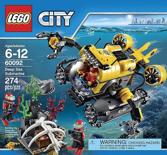 Deep Sea Explorers LEGO City MiniFigure 60092 Deep Sea Submariner Male