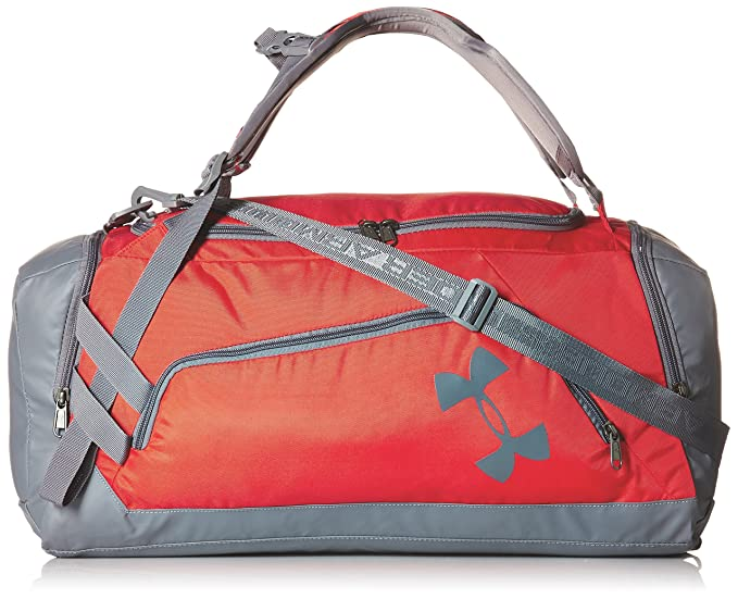 c3682ef8d3f Under Armour Storm Undeniable Backpack Duffle - Medium, Red /Graphite, One  Size