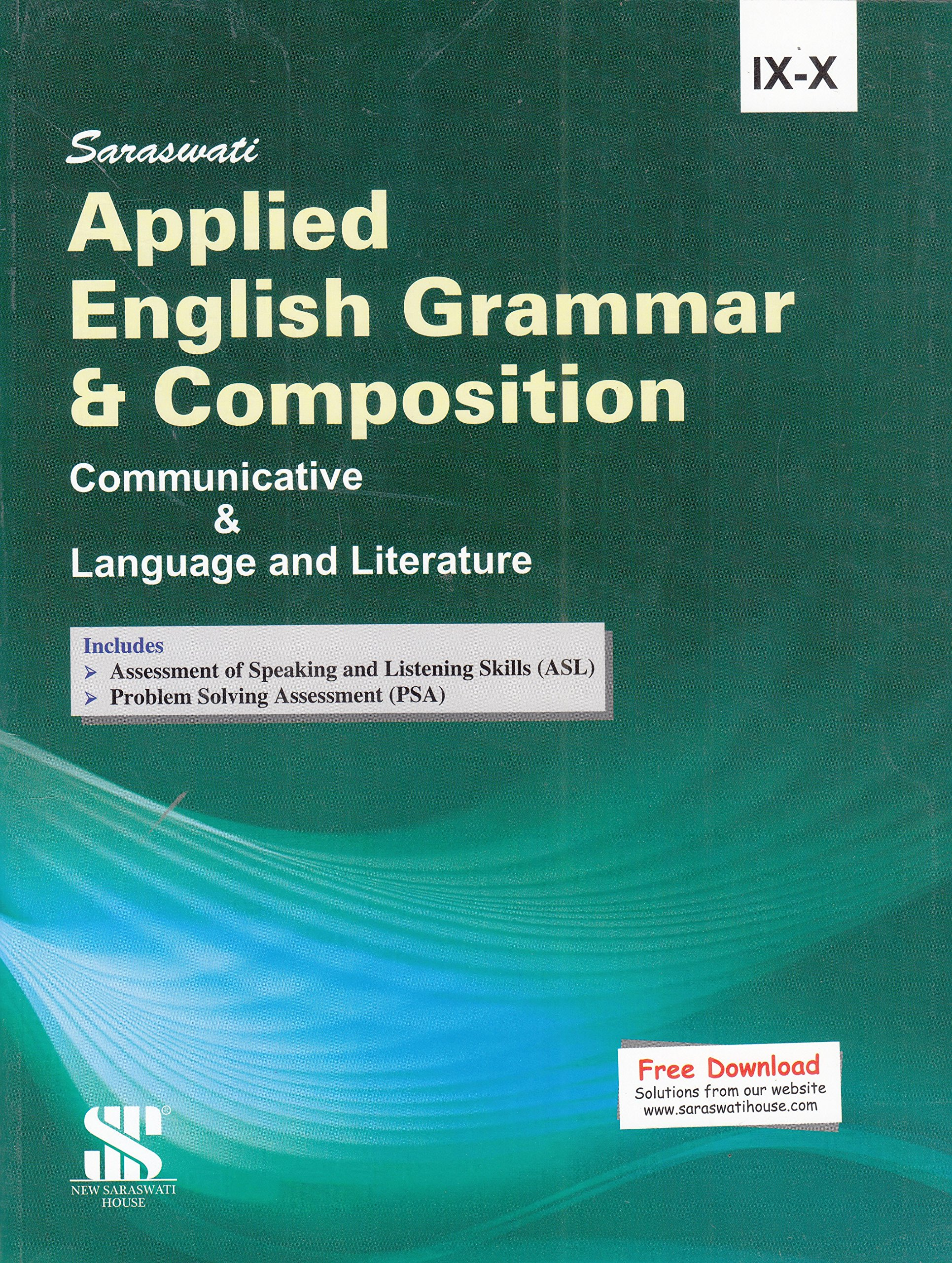 Applied English Grammar & Composition Communicative & Language and Literature for Class 9 - 10: Educational Book ebook