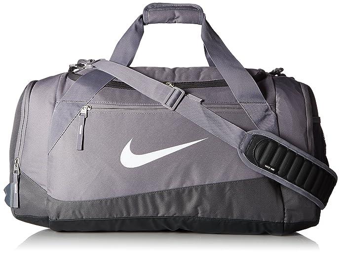 b6776b573d6c ... New Nike Elite Max Air Team Large Basketball Duffel Bag CharcoalDk  GreyWhite Review Nike Team Training ...