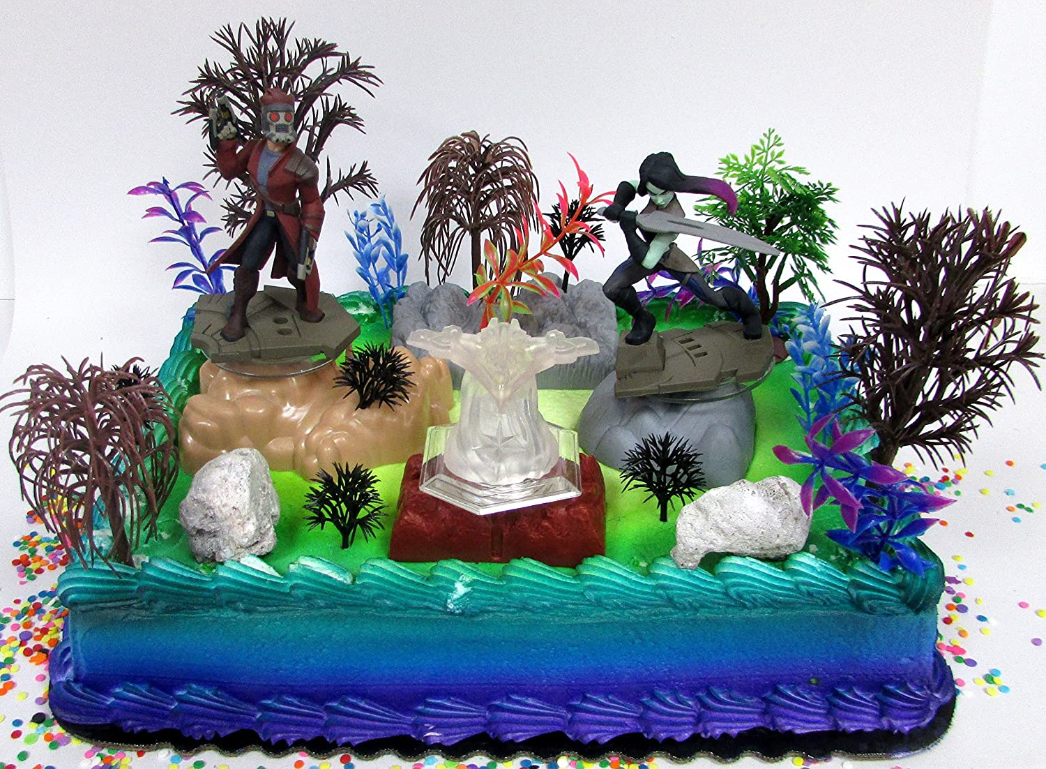 Amazon Guardians Of The Galaxy Birthday Cake Topper Set