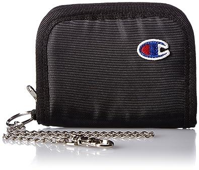 cac7a56b9468 Amazon | [チャンピオン] 財布 小銭入れ アース チェーン付 ブラック | Champion(チャンピオン) | 財布