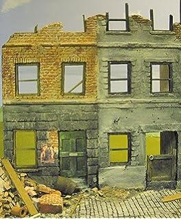 escala ww berln ciudad casa ruina