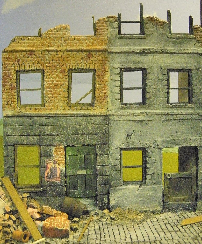 1//35 Scale ~ WW2 Berlin City House Ruin