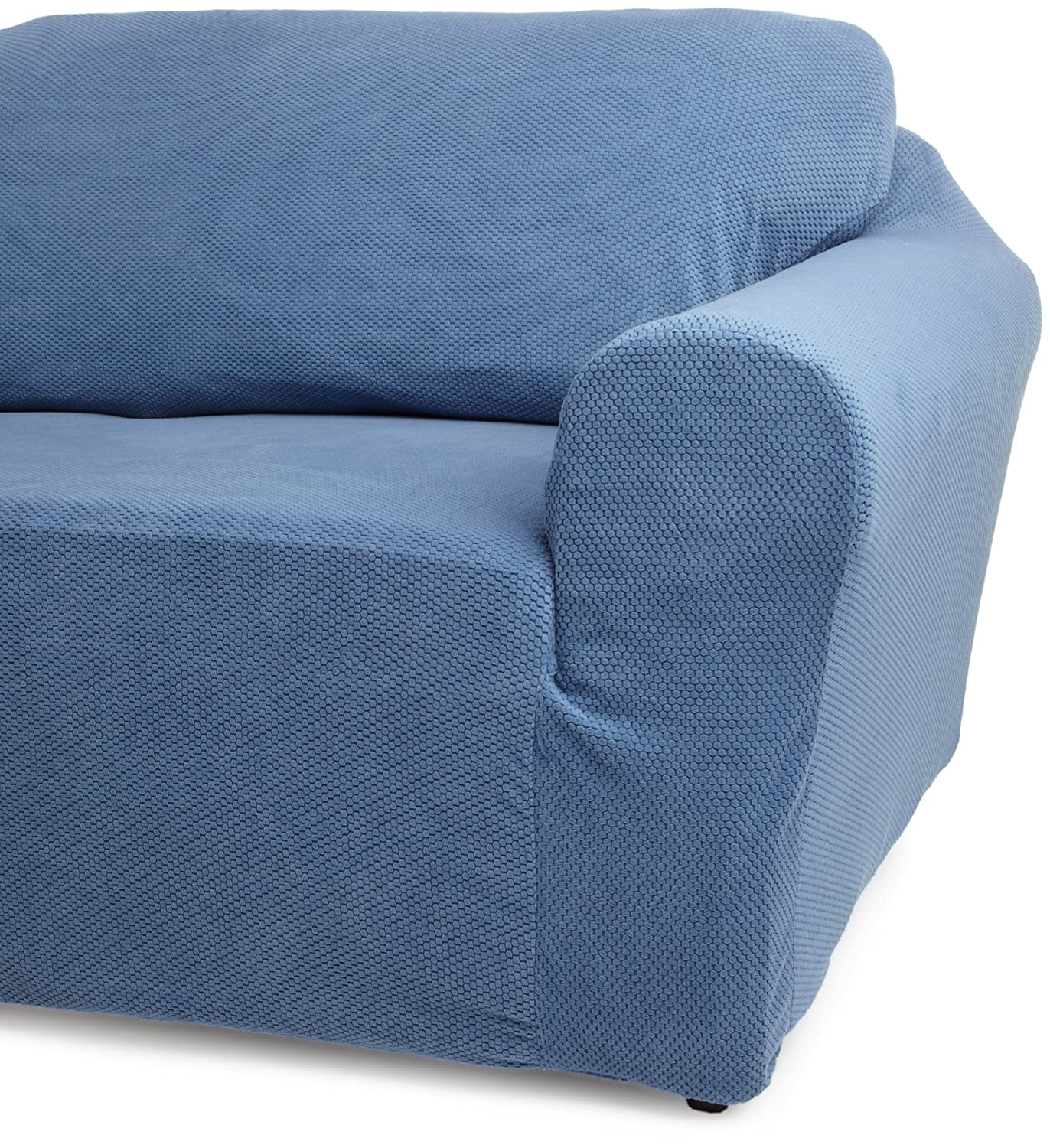 Amazon Classic SlipCovers 78 96 Inch Sofa Cover Blue Home