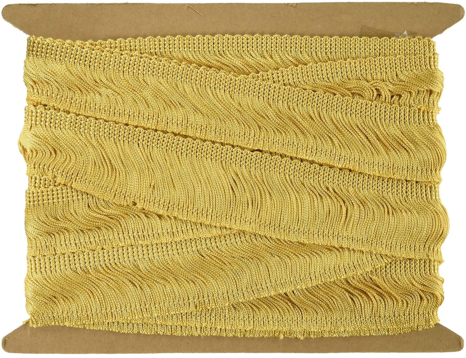 Antique Gold 2 x 9 yd Decorative Trimmings 100/% Rayon Chainette Fringe