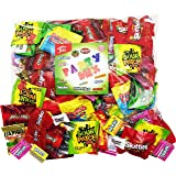 Candy Party Mix Bulk Bag of 3 Lbs Skittles Swedish Fish Nerds Haribo Gummy Sour Patch Twizzlers Life Savers Starbutst Mike and Ike Custom Varietea Peppermints n' more! Net wt 3.0 LB/48 oz