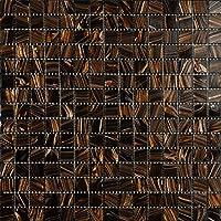 Mosaico de Vidrio en Malla DEC-74291AXU003, Marrón, 4