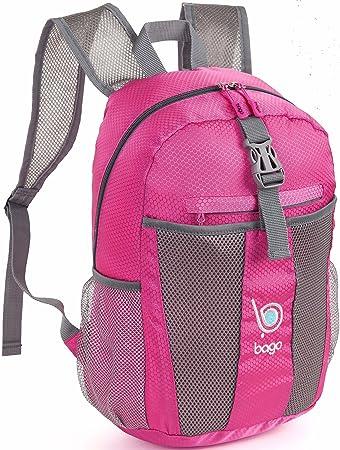 Amazon.com : Bago Lightweight Backpack. Waterproof Collapsible ...