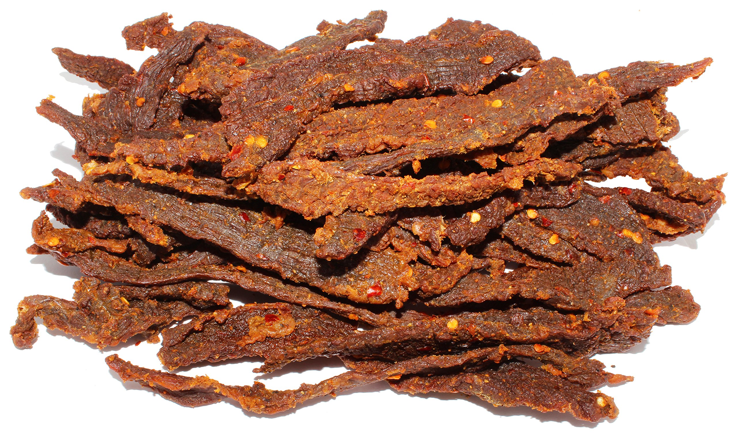 People's Choice Beef Jerky - Carne Seca - Limón Con Chile - Sugar-Free, Carb-Free, Gluten-Free, Keto-Friendly Meat Snack - 1 Pound Bag by People's Choice Beef Jerky