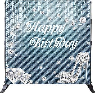 Amazon.com: Mehofoto - Telón de fondo para cumpleaños ...