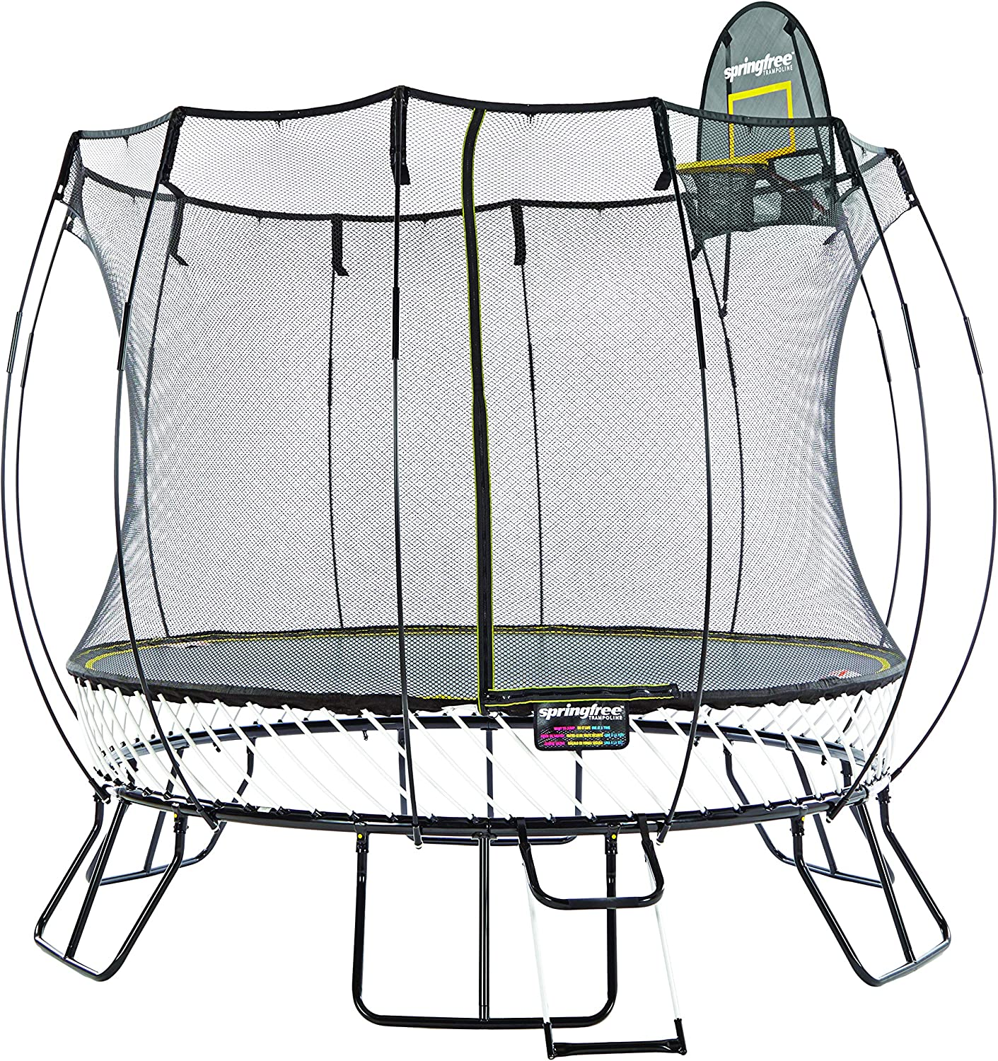Top 10 Best Trampolines With Basketball Hoop 2021 - Reviews