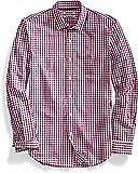 Goodthreads Amazon Brand Men's Slim-Fit Long-Sleeve Gingham Plaid Poplin Shirt