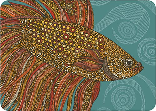 Premium Comfort Beta Fish Mat by Valentina, 22 x 31 , Multicolor