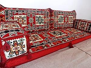 Arabic Sofa,Arabic Couch,Arabic Floor Seating,Arabic Majlis,Floor Couch -MA 37
