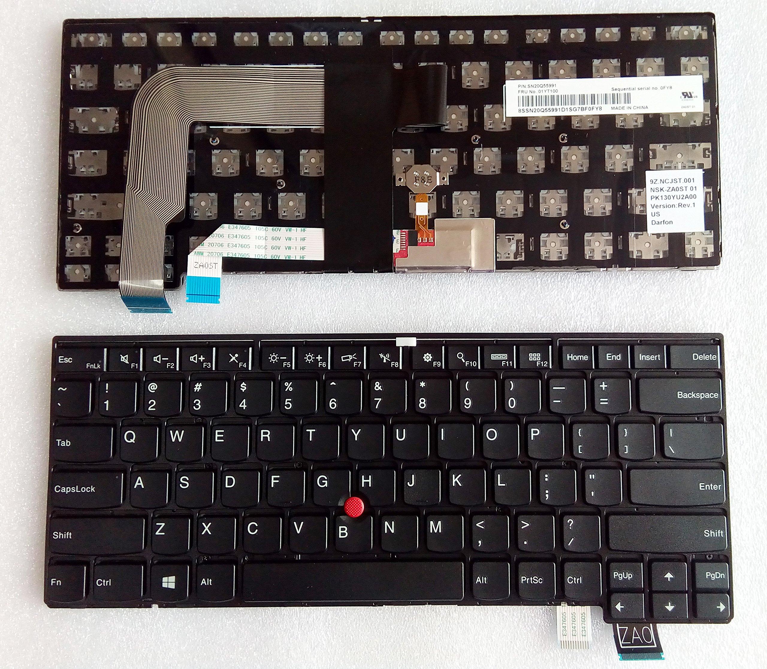 Teclado USA para Thinkpad T460S T470S 00PA452 00PA482 20F9 2
