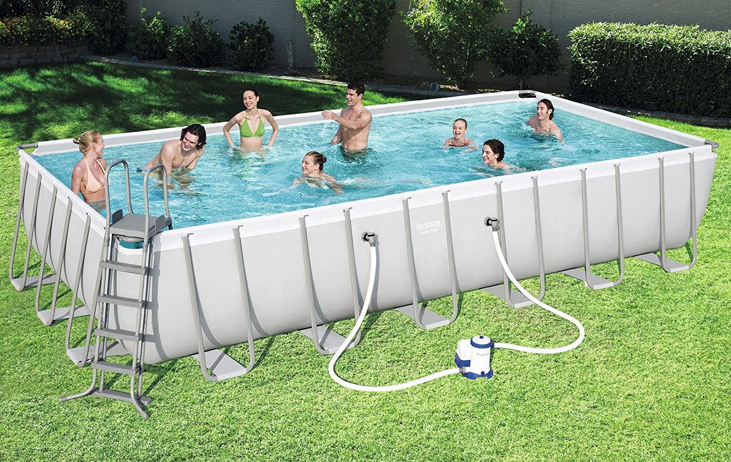 Bestway Power Steel Piscina para piscinas 732 x 366 x 132 cm ...