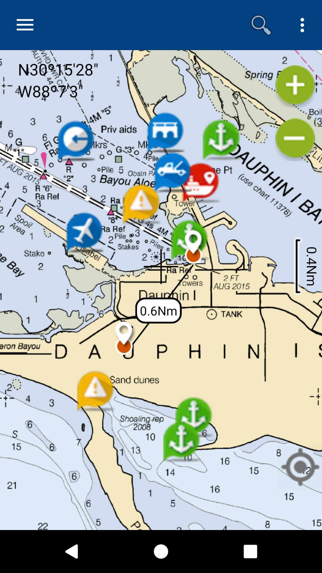 Lake Lanier gps map navigator: Amazon.es: Appstore para Android