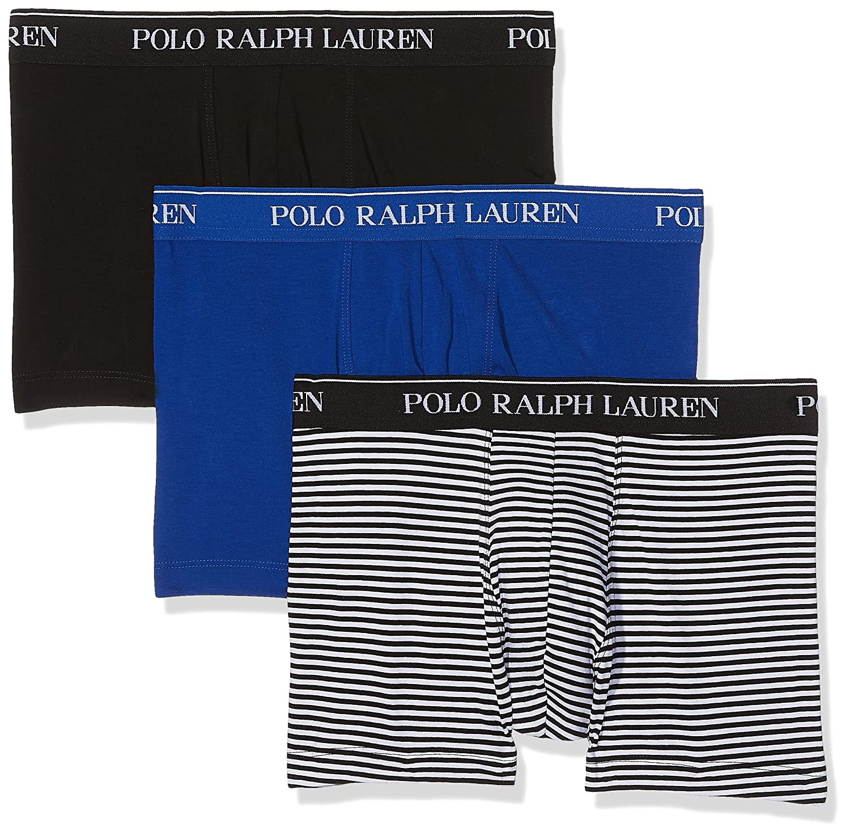 Ralph Lauren Pants Bañador, Mehrfarbig (3Pk Black/Sapp Star/Blk ...