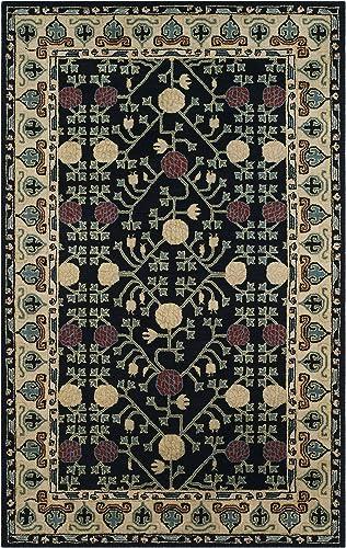 Safavieh Heritage Collection HG740N Handmade Traditional Oriental Premium Wool Area Rug