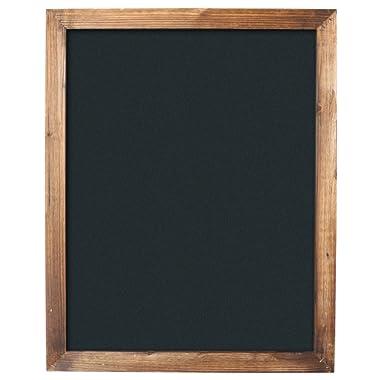 """Barnyard Designs Torched Wood Framed Chalkboard Display Sign Rustic Vintage Decor Home Kitchen Restaurant Bar Cafe Wedding 30"""" x 24"""""""