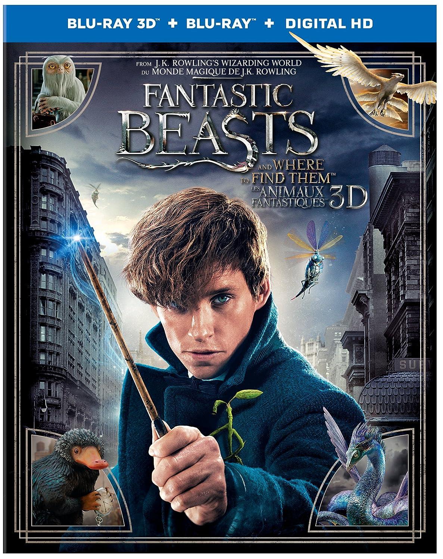 Fantastic Beasts and Where To Find Them (Bilingual) [3D Blu-Ray + Blu-Ray + UV Digital Copy] Katherine Waterston Alison Sudol Colin Farrell Ezra Miller Eddie Redmayne