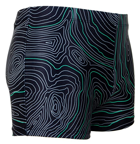GUGGEN MOUNTAIN Herren Badehose mit Muster *High Quality Print* Style 20