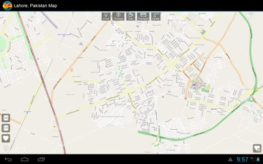 Amazon com: Lahore, Pakistan Offline Map: Mapping Services