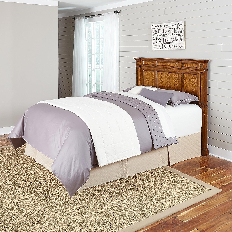 Amazoncom americana home decor - Amazon Com Home Styles 5004 501 Americana Headboard Queen Full Distressed Oak