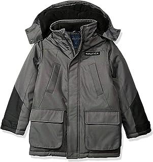 Nautica Boys Water Resistant Ballistic Snorkle Jacket