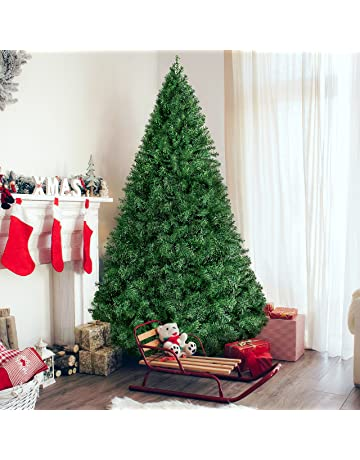 159f32901618 Best Choice Products 6ft Premium Hinged Artificial Christmas Pine Tree w   Easy Assembly