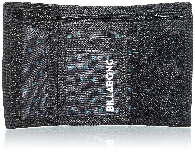 BILLABONG Atom Wallet Monedero, Hombre, Negro (Black), 10 x 2 x 12 cm (W x H x L)