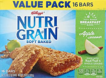 Kellogg's Nutri-Grain Cereal Bars (16-Count Boxes, Pack of 3)