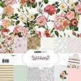 KAISERCRAFT PTY LTD Uncharted Waters PK613 WTR Paper 12X12 Pack 3PL